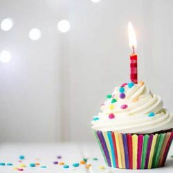 staff birthday cake